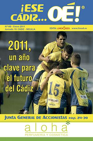 ¡Ese Cádiz…Oé! núm. 148 Temporada 2010/11