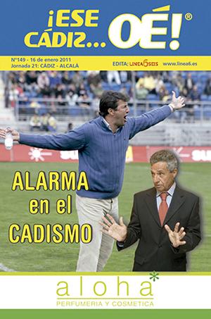 ¡Ese Cádiz…Oé! núm. 149 Temporada 2010/11
