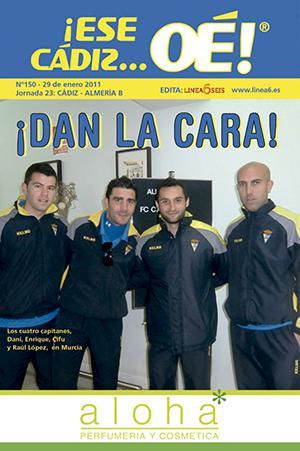 ¡Ese Cádiz…Oé! núm. 150 Temporada 2010/11