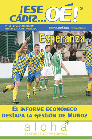 ¡Ese Cádiz…Oé! núm. 152 Temporada 2010/11