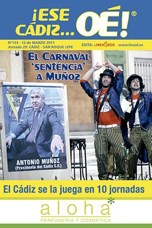 ¡Ese Cádiz…Oé! núm. 153 Temporada 2010/11