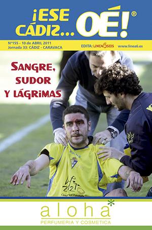 ¡Ese Cádiz…Oé! núm. 155 Temporada 2010/11