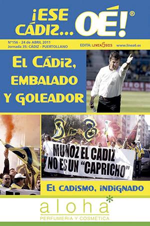 ¡Ese Cádiz…Oé! núm. 156 Temporada 2010/11