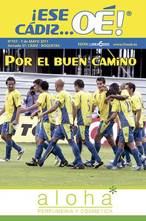 ¡Ese Cádiz…Oé! núm. 157 Temporada 2010/11