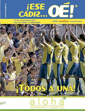 ¡Ese Cádiz…Oé! núm. 158 Temporada 2010/11