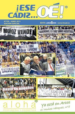 ¡Ese Cádiz…Oé! núm. 159 Temporada 2010/11