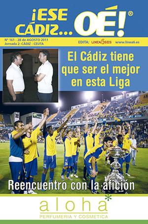 ¡Ese Cádiz…Oé! núm. 161 Temporada 2011/12