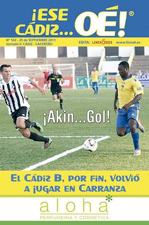 ¡Ese Cádiz…Oé! núm. 163 Temporada 2011/12