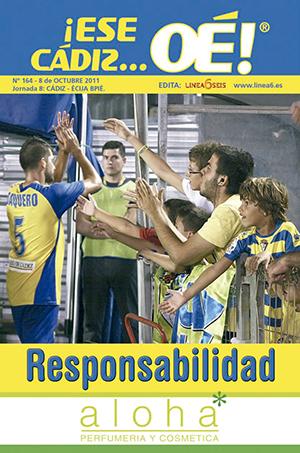 ¡Ese Cádiz…Oé! núm. 164 Temporada 2011/12