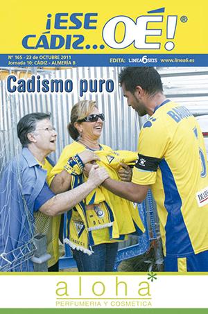 ¡Ese Cádiz…Oé! núm. 165 Temporada 2011/12