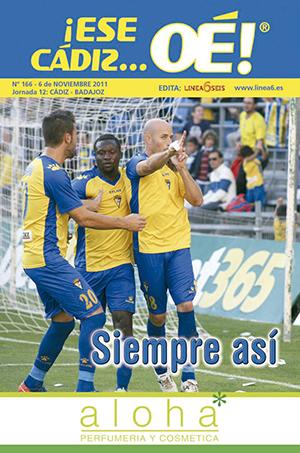 ¡Ese Cádiz…Oé! núm. 166 Temporada 2011/12