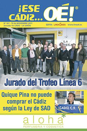 ¡Ese Cádiz…Oé! núm. 167 Temporada 2011/12