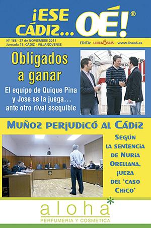 ¡Ese Cádiz…Oé! núm. 168 Temporada 2011/12