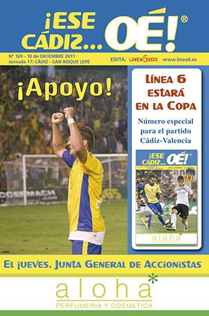 ¡Ese Cádiz…Oé! núm. 169 Temporada 2011/12