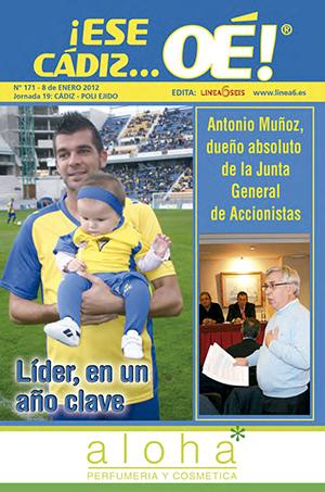 ¡Ese Cádiz…Oé! núm. 171 Temporada 2011/12