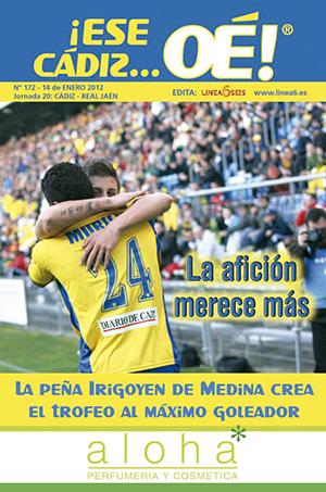 ¡Ese Cádiz…Oé! núm. 172 Temporada 2011/12