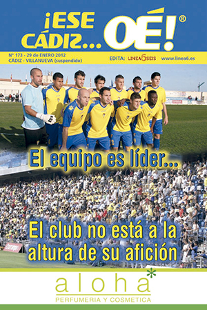 ¡Ese Cádiz…Oé! núm. 173 Temporada 2011/12