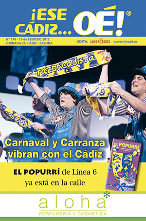 ¡Ese Cádiz…Oé! núm. 174 Temporada 2011/12