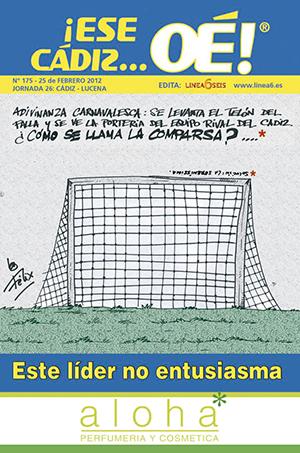¡Ese Cádiz…Oé! núm. 175 Temporada 2011/12