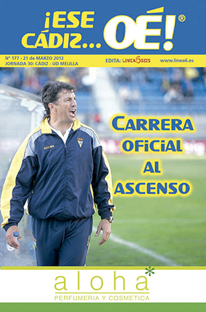 ¡Ese Cádiz…Oé! núm. 177 Temporada 2011/12