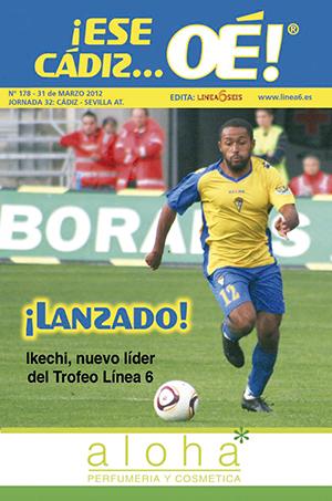 ¡Ese Cádiz…Oé! núm. 178 Temporada 2011/12