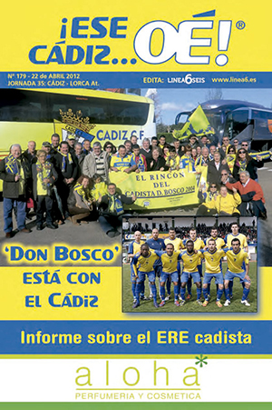 ¡Ese Cádiz…Oé! núm. 179 Temporada 2011/12