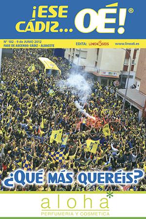 ¡Ese Cádiz…Oé! núm. 182 Temporada 2011/12