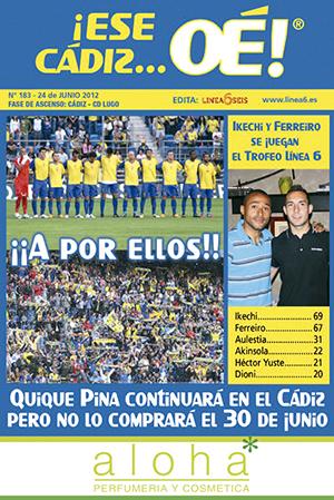 ¡Ese Cádiz…Oé! núm. 183 Temporada 2011/12
