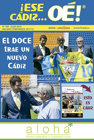¡Ese Cádiz…Oé! núm. 184 Temporada 2011/12