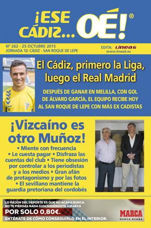 ¡Ese Cádiz…Oé! núm. 262 Temporada 2015/16