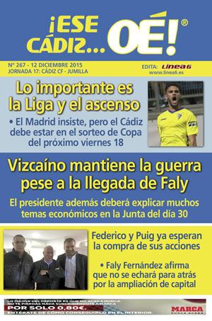 ¡Ese Cádiz…Oé! núm. 267 Temporada 2015/16