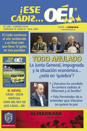 ¡Ese Cádiz…Oé! núm. 268 Temporada 2015/16