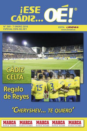 ¡Ese Cádiz…Oé! núm. 269 Temporada 2015/16