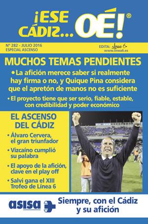 ¡Ese Cádiz…Oé! núm. 282 Temporada 2015/16