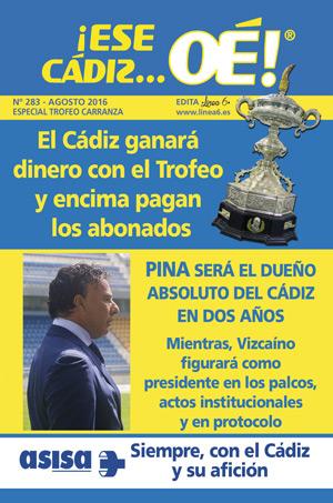 ¡Ese Cádiz…Oé! núm. 283 Temporada 2016/17