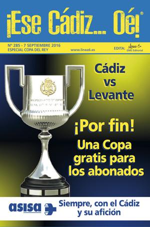 ¡Ese Cádiz…Oé! núm. 285 Temporada 2016/17