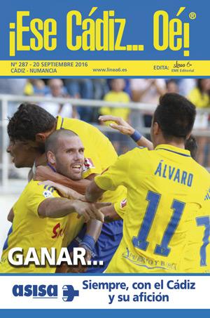 ¡Ese Cádiz…Oé! núm. 287 Temporada 2016/17
