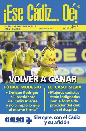 ¡Ese Cádiz…Oé! núm. 288 Temporada 2016/17