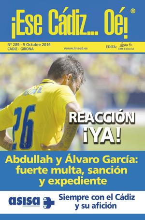 ¡Ese Cádiz…Oé! núm. 289 Temporada 2016/17