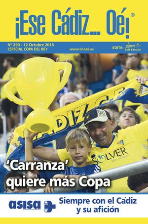 ¡Ese Cádiz…Oé! núm. 290 Temporada 2016/17