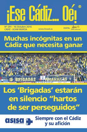 ¡Ese Cádiz…Oé! núm. 291 Temporada 2016/17