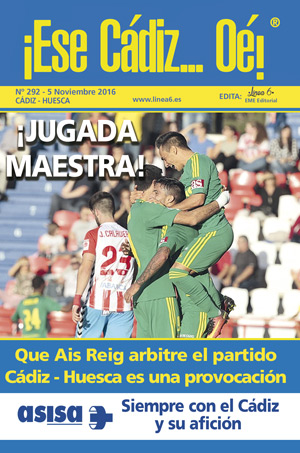 ¡Ese Cádiz…Oé! núm. 292 Temporada 2016/17