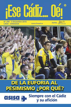 ¡Ese Cádiz…Oé! núm. 294 Temporada 2016/17