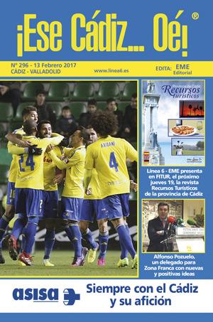 ¡Ese Cádiz…Oé! núm. 296 Temporada 2016/17