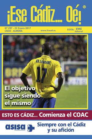 ¡Ese Cádiz…Oé! núm. 297 Temporada 2016/17