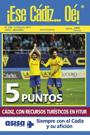 ¡Ese Cádiz…Oé! núm. 298 Temporada 2016/17