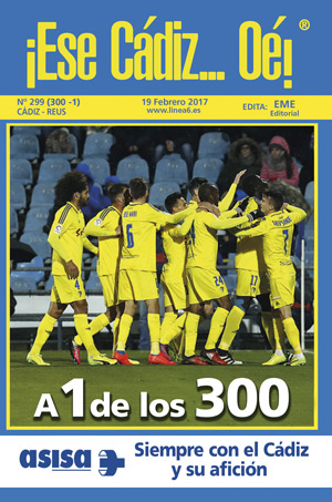 ¡Ese Cádiz…Oé! núm. 299 Temporada 2016/17