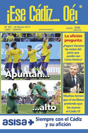 ¡Ese Cádiz…Oé! núm. 301 Temporada 2016/17