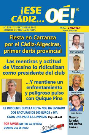 ¡Ese Cádiz…Oé! núm. 258 Temporada 2015/16