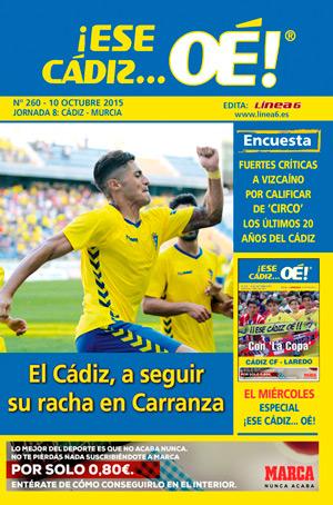 ¡Ese Cádiz…Oé! núm. 260 Temporada 2015/16
